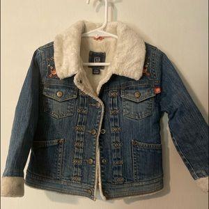 Gap, demin Jean jacket sz 4